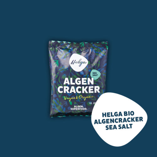 Der Superfood Snack HELGA Cracker
